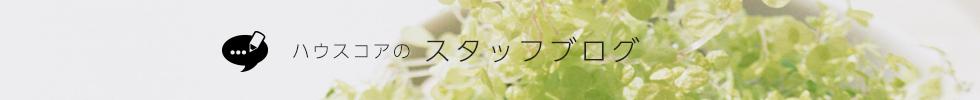 ハウスコアのスタッフブログ